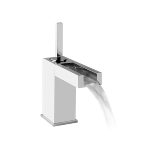 RETTANGOLO CASCATA armatur i chrome fra Gessi-31