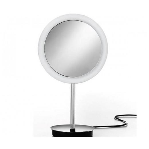 Lineabeta kosmetikspejl på fod med lys fra Cassøe-31