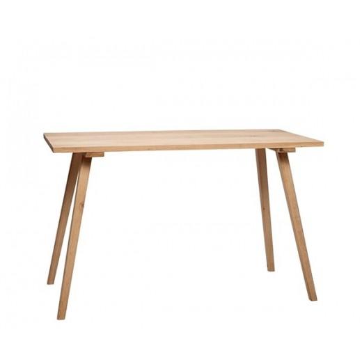 Spisebord i egetræ, 150 cm x 65 cm x 76 cm fra Hübsch-31
