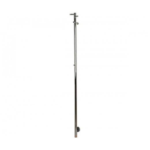 Barcelona 148 El håndklædevarmer i rustfri stål H: 148 cm fra Cassøe-31