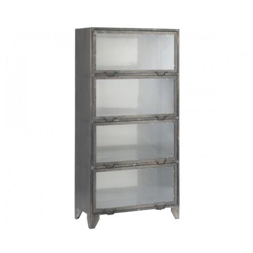"""Metal kabinet med 4 låger af mærket """"New York"""" fra Ib Laursen-31"""
