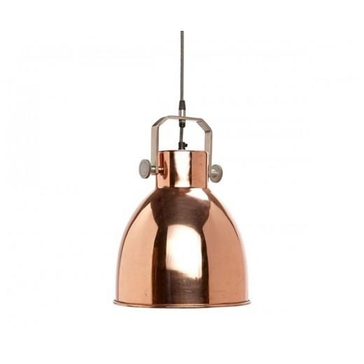 Pendel lampe i kobber fra Hübsch-31