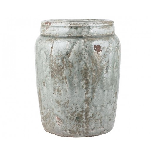 """Stor skjuler i glaseret keramik af mærket """"Tanger"""" fra Ib Laursen-31"""