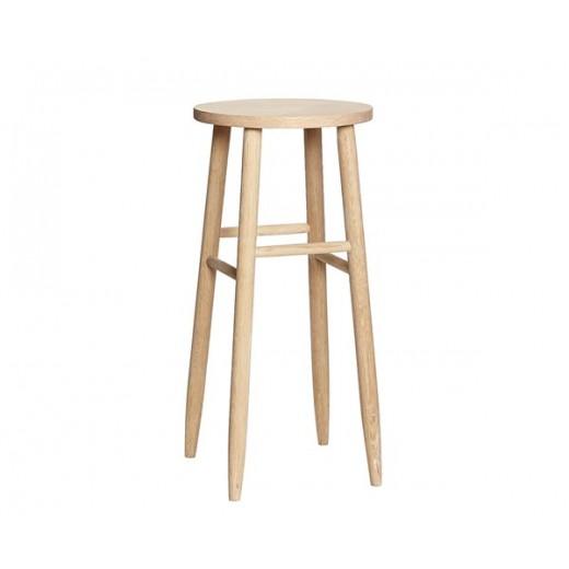 Barstol i egetræ fra Hübsch-31