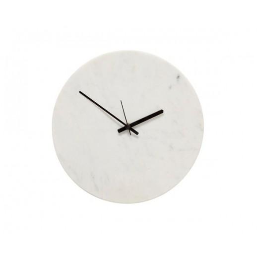 Ur i hvid marmor fra Hübsch-31