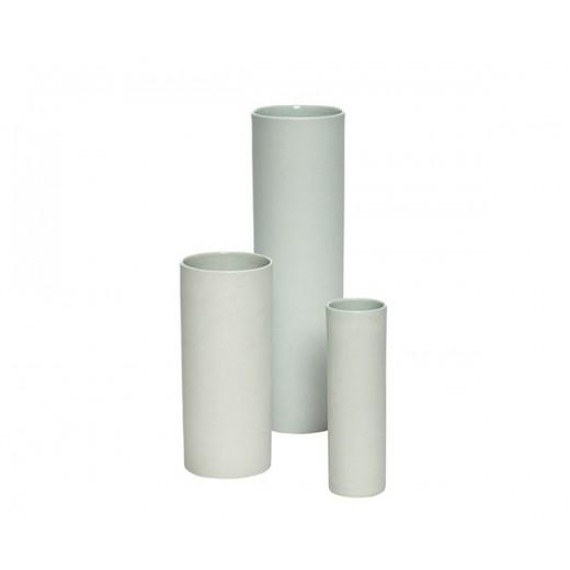 3 vaser i grønt porcelæn fra Hübsch-31