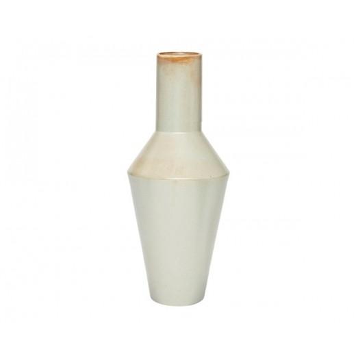 Stor rustik vase i keramik fra Hübsch-31