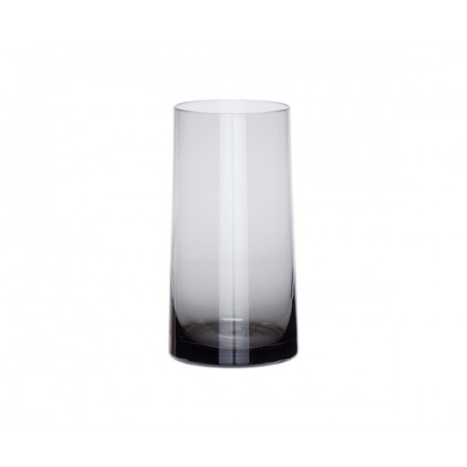 Glasvase i gråt glas-31