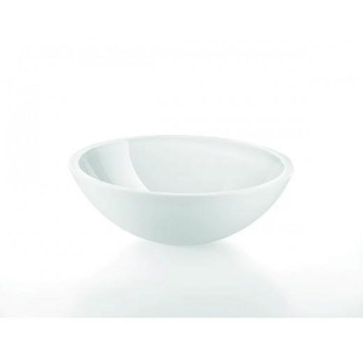 Lineabeta glasbowle i hvid fra Cassøe Ø : 42.5 cm-31