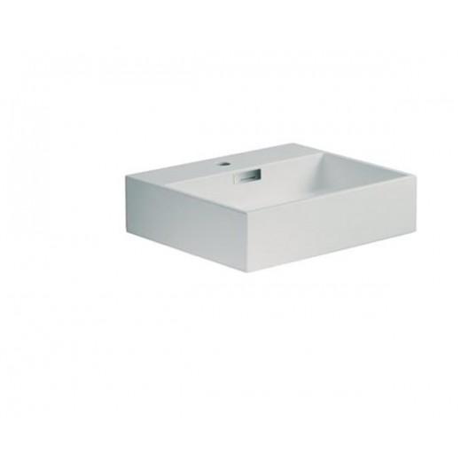 Quarelo vask i hvid fra Cassøe B; 49,5 cm-31