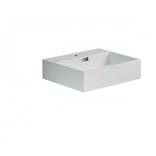 Quarelo vask i hvid fra Cassøe B; 50 cm-31