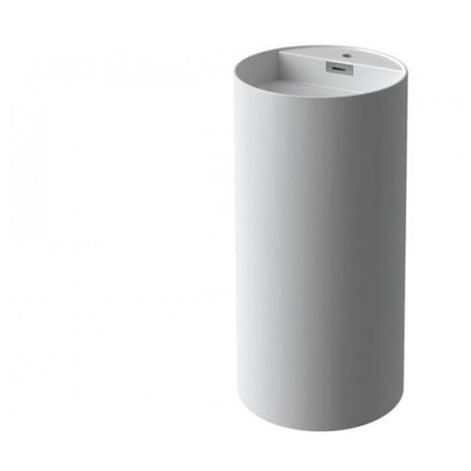 Vaskesøjle Solid Surface fra Cassøe-31
