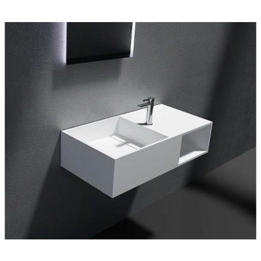 Firkantet solid surface vask fra Cassøe-31