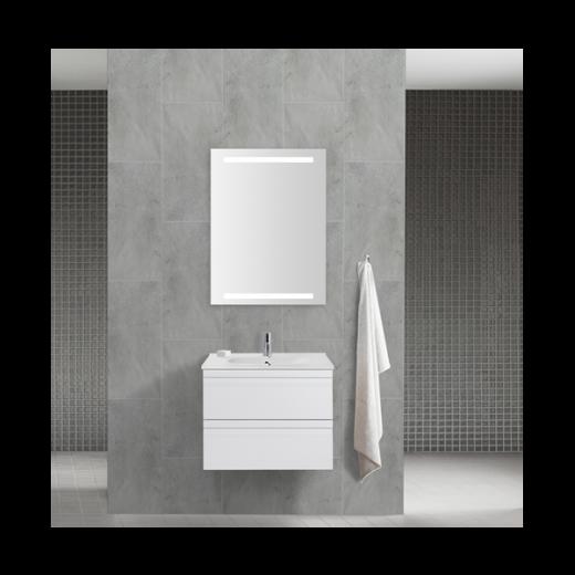Underskab 60x48cm, inklusiv kantate vask, 3 varianter: Hvid/Sort/Ceder Grey, fra Dansani-31