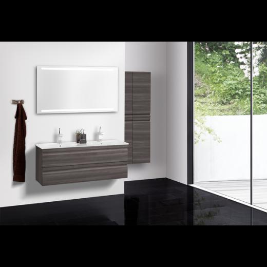 Underskab 120x48cm, inklusiv kantate vask, 3 varianter Hvid/Sort/Ceder Grey, fra Dansani-31