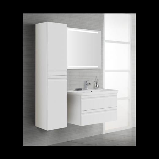Underskab 120x48cm, inklusiv menuet vask, 3 varianter Hvid/Sort/Ceder Grey, fra Dansani-31