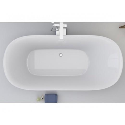 Fritstående badekar Rødsø-31
