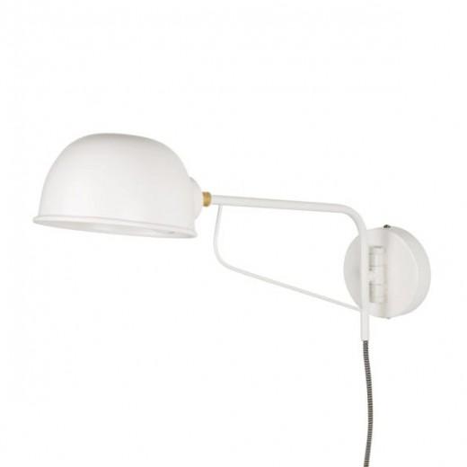 Væglampe i mat hvid fra Ib Laursen-31