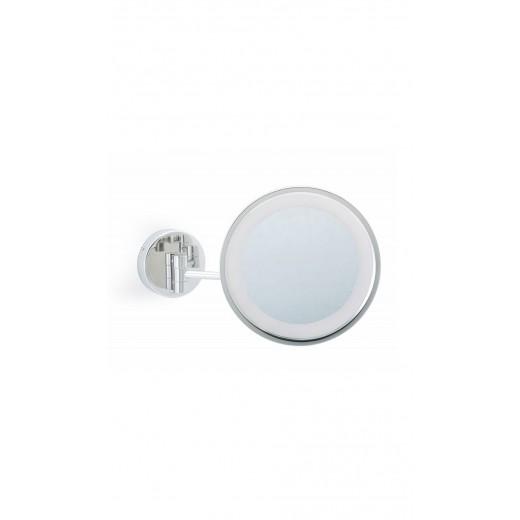 Kosmetikspejl med lys via touch Væghængt-31