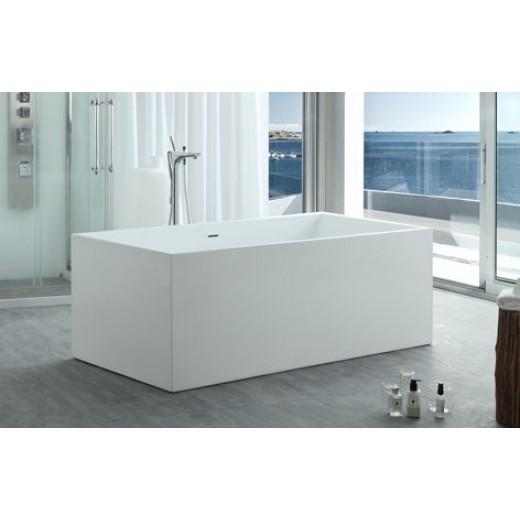 Fritstående badekar Vidå Mat 153 170 cm-31