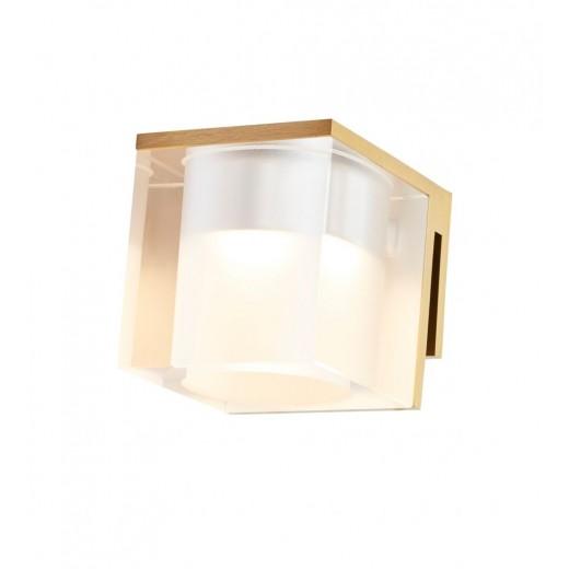 Vetro spejllampe Isglas/Krom Isglas/Hvid Isglas/Sort Klar glas/Krom Klar glas/Hvid Klar glas/Sort Klar glas/Børstet messing-31