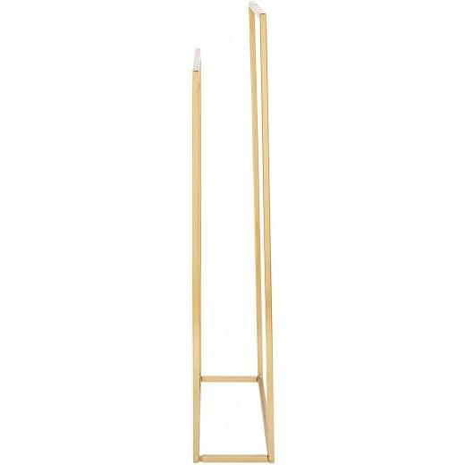 Håndklæde rack i guld/metal fra Bloomingville-31