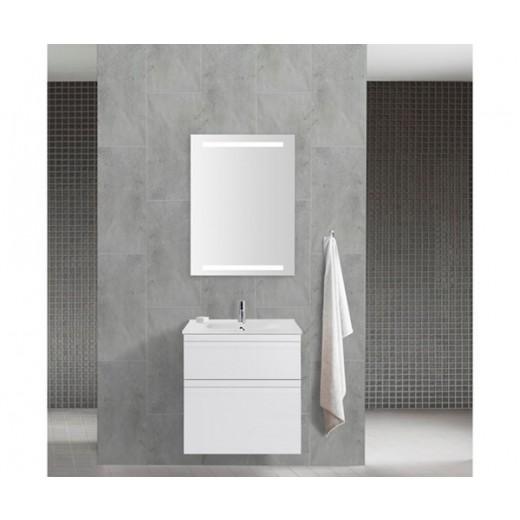 Underskab 60x64cm, inklusiv kantate vask, 3 varianter Hvid/Sort/Ceder Grey, fra Dansani-31