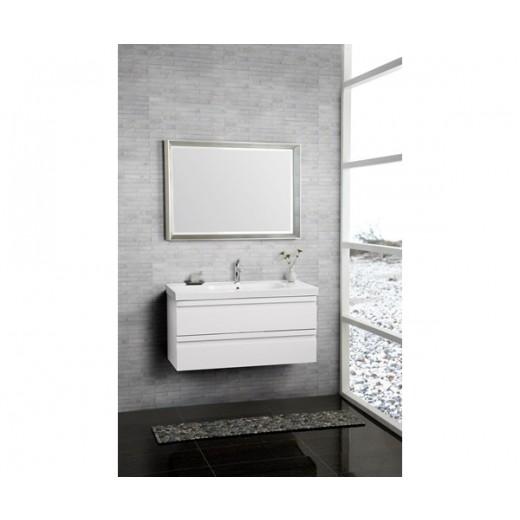 Underskab 100x64cm, inklusiv menuet vask, 3 varianter Hvid/Sort/Ceder Grey, fra Dansani-31
