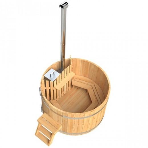 Vildmarksbad til 4 personer i lærketræ-31