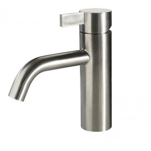Noba W4 badeværelses armatur i børstet stål fra Cassøe-31