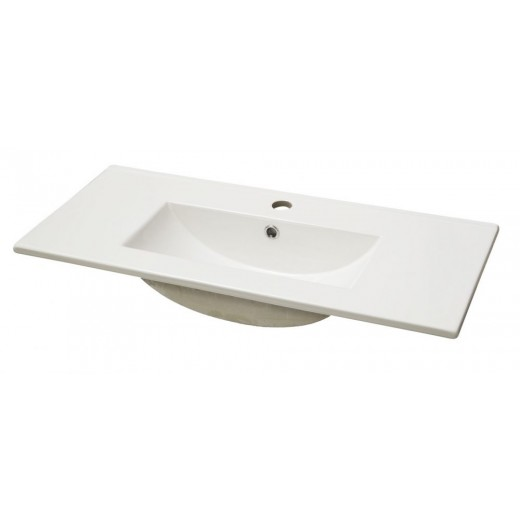Porcelænsvask fra Cassøe 61 81 cm-31