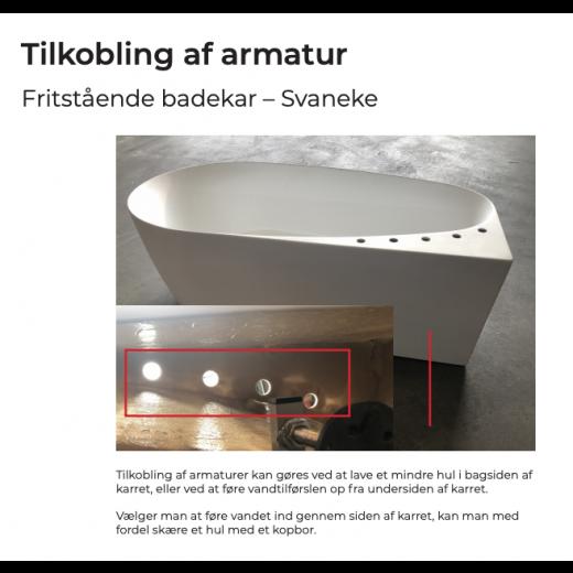 Fritstående Badekar Engsø Mat 170 cm-31