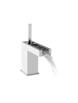 RETTANGOLO CASCATA armatur i chrome fra Gessi-20