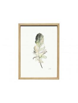 Fotoramme i egetræ med indhold. Str. 35x50cm fra Hübsch-20
