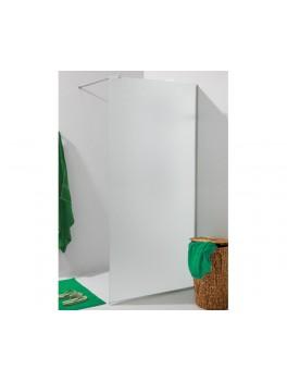 Glasvæg i satinfrostet glas. 8 mm glas 90 x 220 cm-20