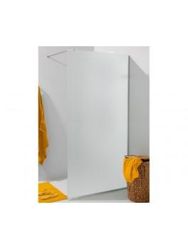 Glasvæg i satinfrostet glas. 8 mm glas 100 x 220 cm-20