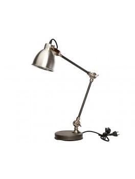 Bordlampe i aluminium og jern fra Hübsch-20