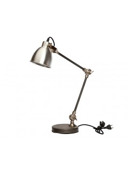 Bordlampe i aluminium og jern fra Hübsch UDSTILLINGSMODEL-20