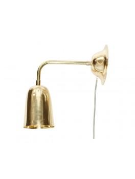 Væghængt messing lampe fra Hübsch-20