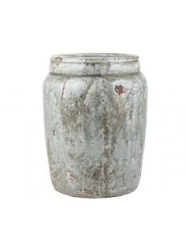 """Stor skjuler i glaseret keramik af mærket """"Tanger"""" fra Ib Laursen-20"""