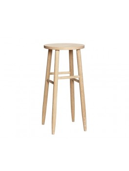 Barstol i egetræ fra Hübsch-20