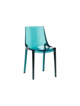 4 stole i petroleumsfarvet plast fra Hübsch-20