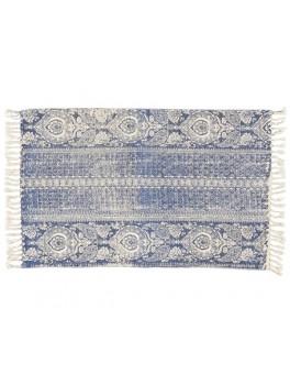 Tæppe med støvet blåt mønster fra Ib Laursen-20