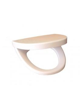 Spring toiletsæde i hvid fra Cassøe-20