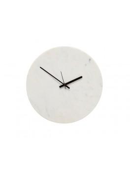 Ur i hvid marmor fra Hübsch-20