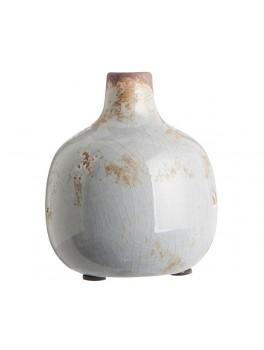 """Glaseret vase med smal hals """"Tunis"""" fra Ib Laursen-20"""