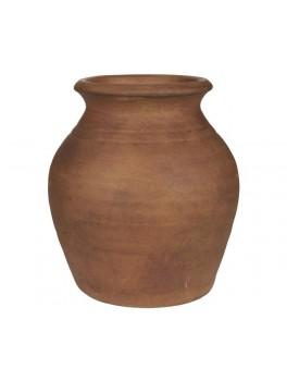Vase med smal kant i terra kotta fra Ib Laursen-20