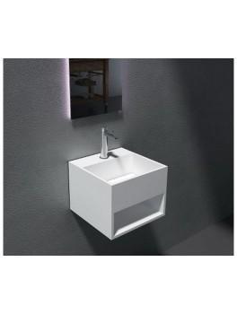 Firkantet solid surface vask fra Cassøe-20