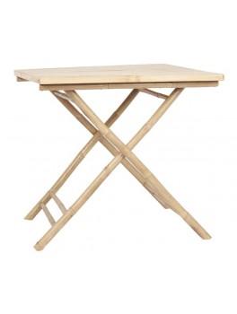 Kvadratisk bord i bambus fra Ib Laursen-20