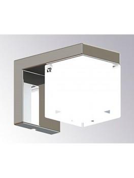 LED Wall Cube lampe fra Cassøe-20